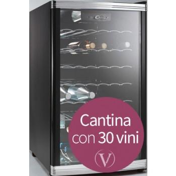Candy CCV150 Frigorifero Cantina completa di 30 selezioni di vini