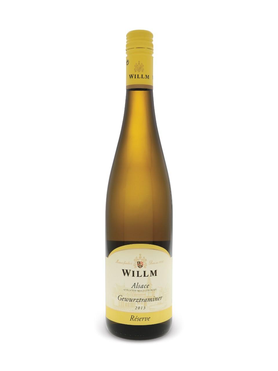 Gewurtztraminer dAlsace Réserve (2014) Alsace Willm
